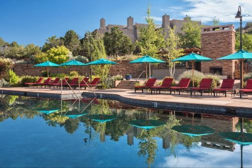 The swimming pool at or near Four Seasons Resort Rancho Encantado Santa Fe