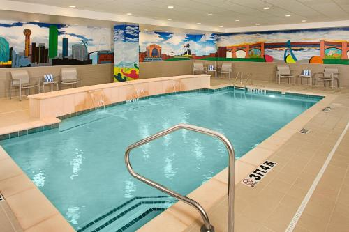 The swimming pool at or near Homewood Suites Dallas Downtown