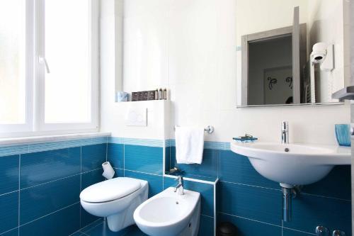 A bathroom at La Rosa Dei Venti