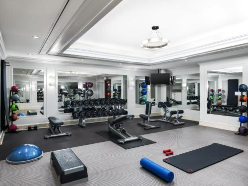 The fitness center and/or fitness facilities at The Westin St. Francis San Francisco on Union Square