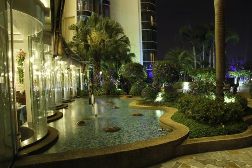 The swimming pool at or near The Royal Marina Plaza Hotel Guangzhou