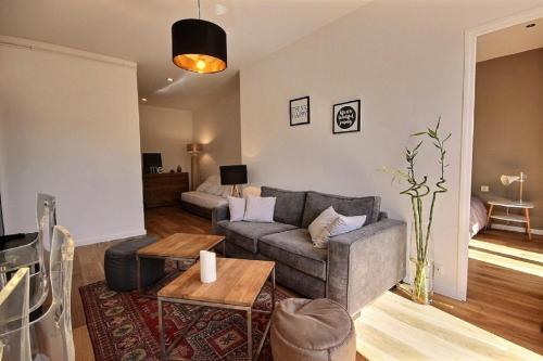 A seating area at BB Home Marseille - Au pied de Notre Dame de la Garde