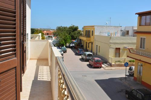 A balcony or terrace at Grandi Appartamenti Centrali