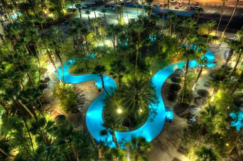 A view of the pool at Tahiti Village Resort & Spa or nearby