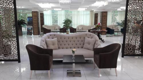 Vestibiulis arba registratūra apgyvendinimo įstaigoje Aria Hotel Chisinau