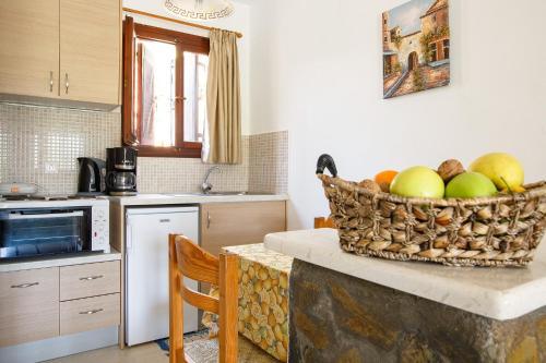 Una cocina o zona de cocina en Villa Italiana