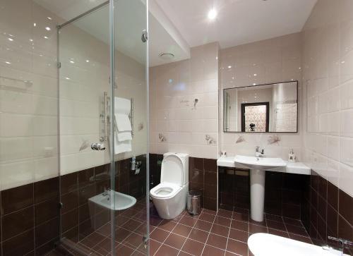 Ванная комната в Отель Палацио