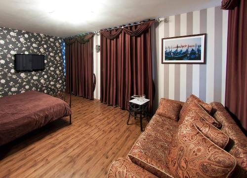 Гостиная зона в Отель Палацио