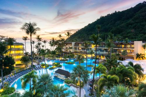 A view of the pool at Phuket Marriott Resort & Spa, Merlin Beach - SHA Plus or nearby