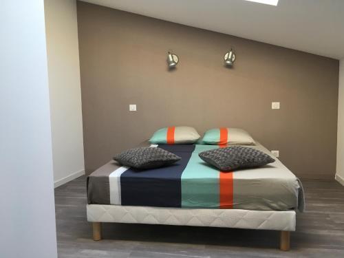 Un ou plusieurs lits dans un hébergement de l'établissement Trio Marin