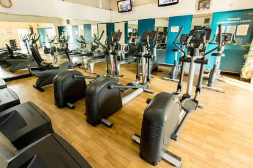 The fitness center and/or fitness facilities at Marks Tey Hotel Sure Hotel Collection by Best Western