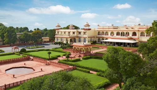 A view of the pool at Jai Mahal Palace or nearby