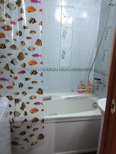 Ванная комната в Apartments Мира 2 Б
