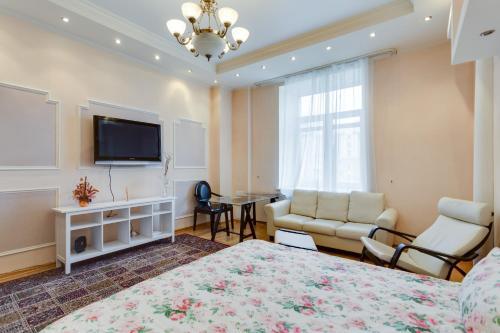 Гостиная зона в Dream House Novy Arbat