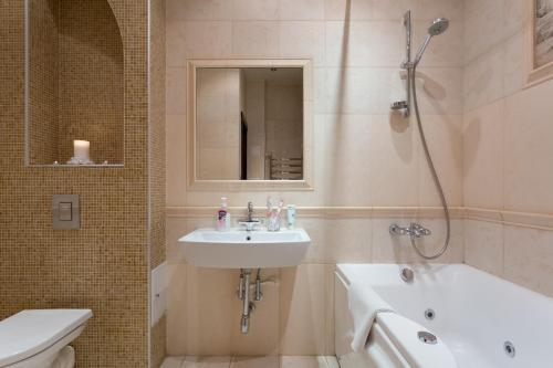 Ванная комната в Dream House Novy Arbat