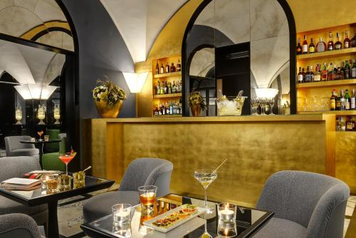 A restaurant or other place to eat at Hotel Balestri
