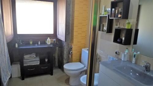 A bathroom at Alegre Monotonia