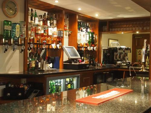 The lounge or bar area at Ramsay Arms Hotel