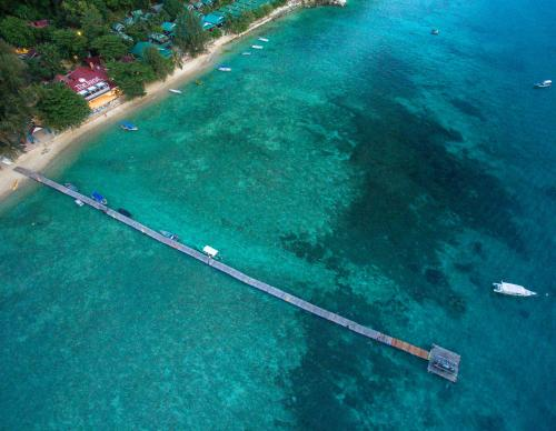 A bird's-eye view of The Barat Perhentian