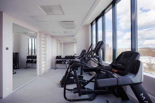 Das Fitnesscenter und/oder die Fitnesseinrichtungen in der Unterkunft Hotel Tartu