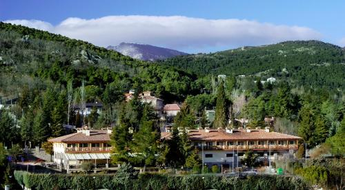 Hotel Rural Spa & Wellness Hacienda Los Robles a vista de pájaro