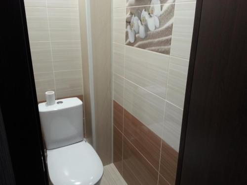 A bathroom at 1-ая квартира Ленинградская 15