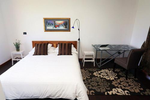 A bed or beds in a room at Apartment Larin