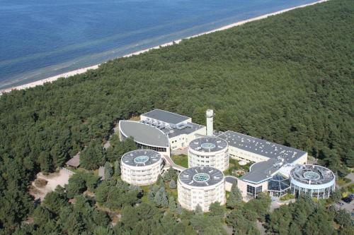 A bird's-eye view of Hotel Senator
