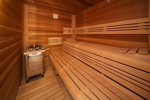 Kúpele alebo wellness v ubytovaní Hotel Enchanté