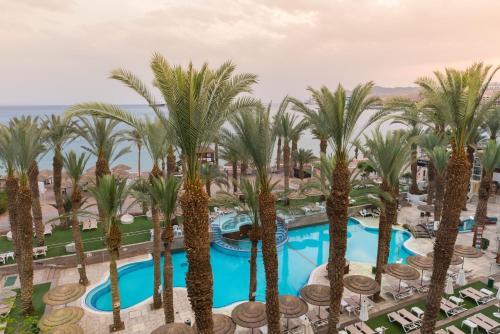 Вид на бассейн в Leonardo Plaza Hotel Eilat или окрестностях