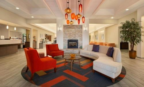 The lobby or reception area at Homewood Suites by Hilton Las Vegas Airport