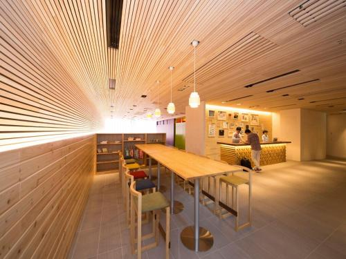 A restaurant or other place to eat at Hotel WBF Art Stay Naha Kokusai-Dori