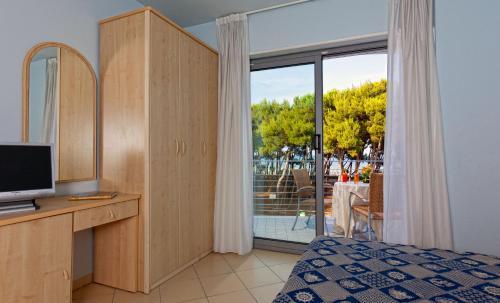 TV o dispositivi per l'intrattenimento presso Hotel Antares