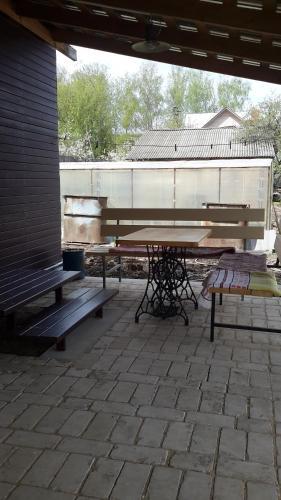 Балкон или терраса в Guest house Tihaya ulochka