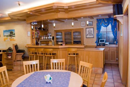 Lounge oder Bar in der Unterkunft Gasthaus & Pension Hörning