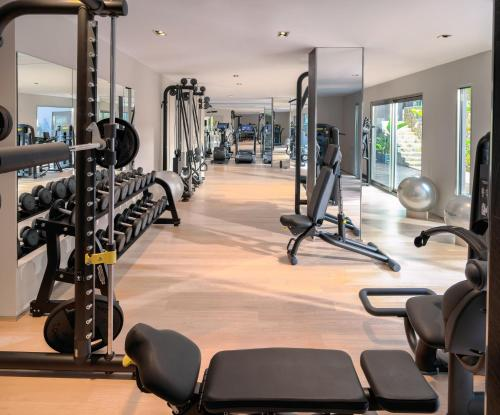 The fitness center and/or fitness facilities at Aguas de Ibiza Grand Luxe Hotel