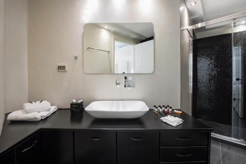 Salle de bains dans l'établissement Elea Resort - Adults Only
