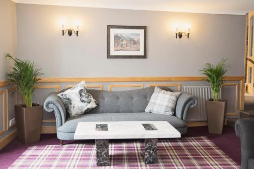 A seating area at Royal Hotel