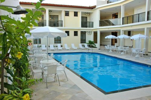 The swimming pool at or near San Manuel Praia Hotel