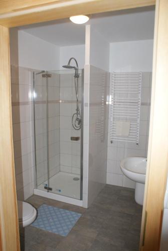 Łazienka w obiekcie Apartamenty Rodzinne