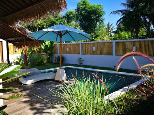 The swimming pool at or near Villa Saia