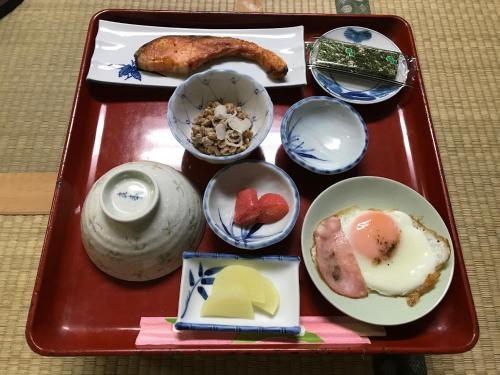 二洸旅館で提供されている朝食