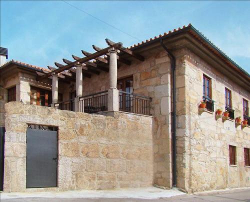 O edifício onde a casa de férias está situado