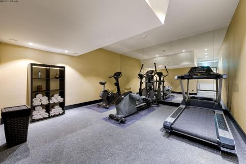 The fitness center and/or fitness facilities at Mercure Hotel Raphael Wien