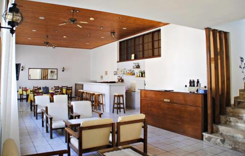 A restaurant or other place to eat at Hotel Anthousa