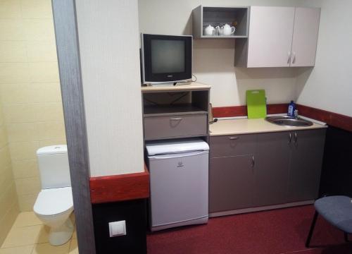 Кухня или мини-кухня в Отель 33 Медведя