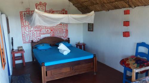 Cama o camas de una habitación en Atlantis Madagascar