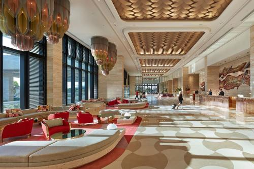 A restaurant or other place to eat at Crown Towers Perth