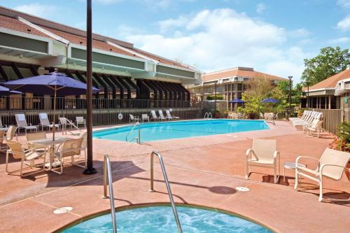 The swimming pool at or near DoubleTree By Hilton Sacramento