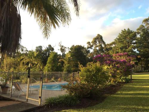 The swimming pool at or near Bulahdelah Myall Motel